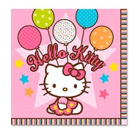 Салфетка-Hello-Kitty-33см-16шт