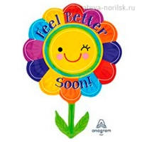 Цветок FEEL BETTER SOON